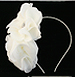 Chanel Silk Flower Bridal Headband