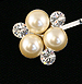 Bridal Pearl Bobby Pin Set - Lucy 