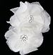 Chanel Silk Flower Bridal Comb