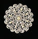 Queen Anne's Lace Brooch