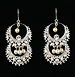 Anna Lin Chandelier Earrings