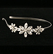 Rhinestone headband - Bridal headpiece - Tiara with rhinestones - Style Lily Headband with Swarovski Crystal